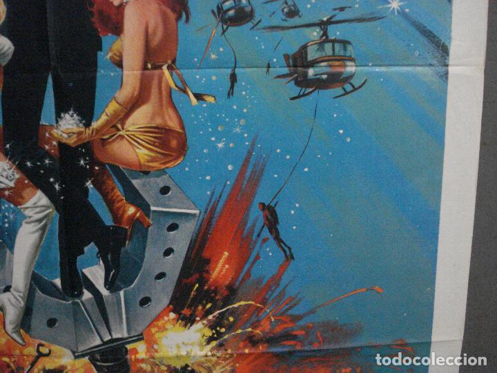 Cine: AAX60 DIAMANTES PARA LA ETERNIDAD JAMES BOND 007 SEAN CONNERY POSTER ORIGINAL 100X140 ITALIANO - Foto 8 - 265335234