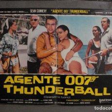 Cine: AAX62 OPERACION TRUENO JAMES BOND 007 SEAN CONNERY SET DE 6 POSTERS ORIGINAL ITALIANO 47X68. Lote 265445559