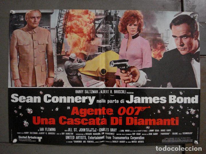 Cine: AAX63 DIAMANTES PARA LA ETERNIDAD JAMES BOND 007 SEAN CONNERY SET 6 POSTERS ORIGINAL ITALIANO 47X68 - Foto 3 - 265446779