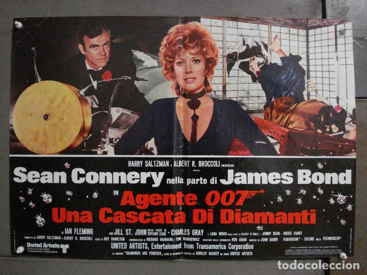 Cine: AAX63 DIAMANTES PARA LA ETERNIDAD JAMES BOND 007 SEAN CONNERY SET 6 POSTERS ORIGINAL ITALIANO 47X68 - Foto 7 - 265446779