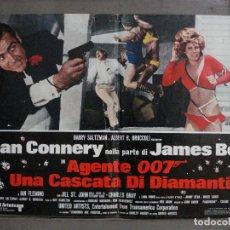 Cine: AAX65 DIAMANTES PARA LA ETERNIDAD JAMES BOND 007 SEAN CONNERY POSTER ORIGINAL ITALIANO 47X68. Lote 265448239