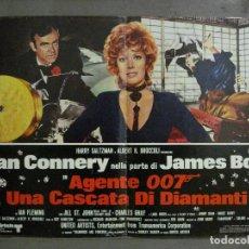 Cine: AAX66 DIAMANTES PARA LA ETERNIDAD JAMES BOND 007 SEAN CONNERY POSTER ORIGINAL ITALIANO 47X68. Lote 265450414
