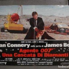 Cine: AAX68 DIAMANTES PARA LA ETERNIDAD JAMES BOND 007 SEAN CONNERY POSTER ORIGINAL ITALIANO 47X68. Lote 265451024