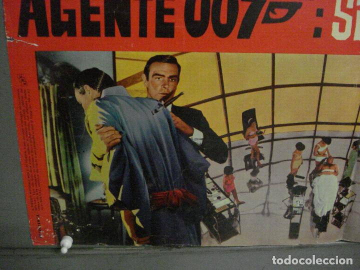 Cine: AAX70 SOLO SE VIVE DOS VECES JAMES BOND 007 SEAN CONNERY POSTER ORIGINAL ITALIANO 47X68 - Foto 3 - 265452709