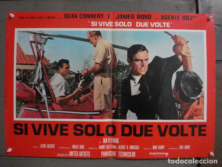 Cine: AAX71 SOLO SE VIVE DOS VECES JAMES BOND 007 SEAN CONNERY SET 6 POSTERS ORIGINAL ITALIANO 47X68 - Foto 5 - 265453824