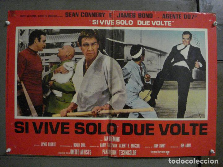Cine: AAX71 SOLO SE VIVE DOS VECES JAMES BOND 007 SEAN CONNERY SET 6 POSTERS ORIGINAL ITALIANO 47X68 - Foto 7 - 265453824