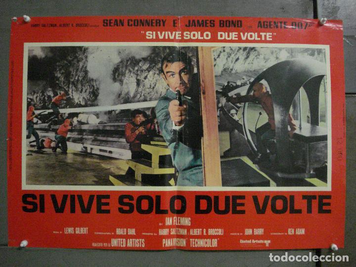 Cine: AAX71 SOLO SE VIVE DOS VECES JAMES BOND 007 SEAN CONNERY SET 6 POSTERS ORIGINAL ITALIANO 47X68 - Foto 9 - 265453824