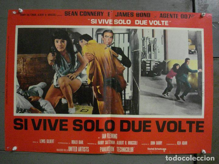 Cine: AAX71 SOLO SE VIVE DOS VECES JAMES BOND 007 SEAN CONNERY SET 6 POSTERS ORIGINAL ITALIANO 47X68 - Foto 11 - 265453824
