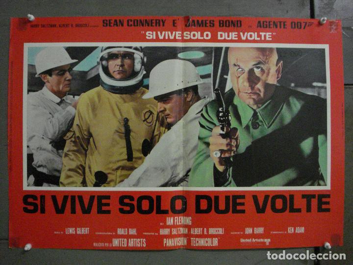 Cine: AAX71 SOLO SE VIVE DOS VECES JAMES BOND 007 SEAN CONNERY SET 6 POSTERS ORIGINAL ITALIANO 47X68 - Foto 3 - 265453824
