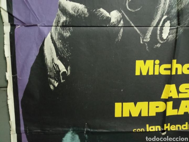 Cine: AAY19 ASESINO IMPLACABLE get carter MICHAEL CAINE MAC POSTER ORIGINAL 70X100 ESTRENO - Foto 4 - 265469614