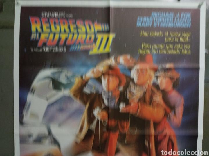 Cine: AAY04 REGRESO AL FUTURO 3 MICHAEL J. FOX ROBERT ZEMECKIS DREW POSTER ORIGINAL 70X100 ESTRENO - Foto 2 - 278272678