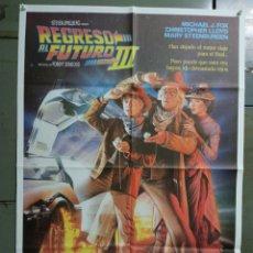 Cine: AAY04 REGRESO AL FUTURO 3 MICHAEL J. FOX ROBERT ZEMECKIS DREW POSTER ORIGINAL 70X100 ESTRENO. Lote 278272678
