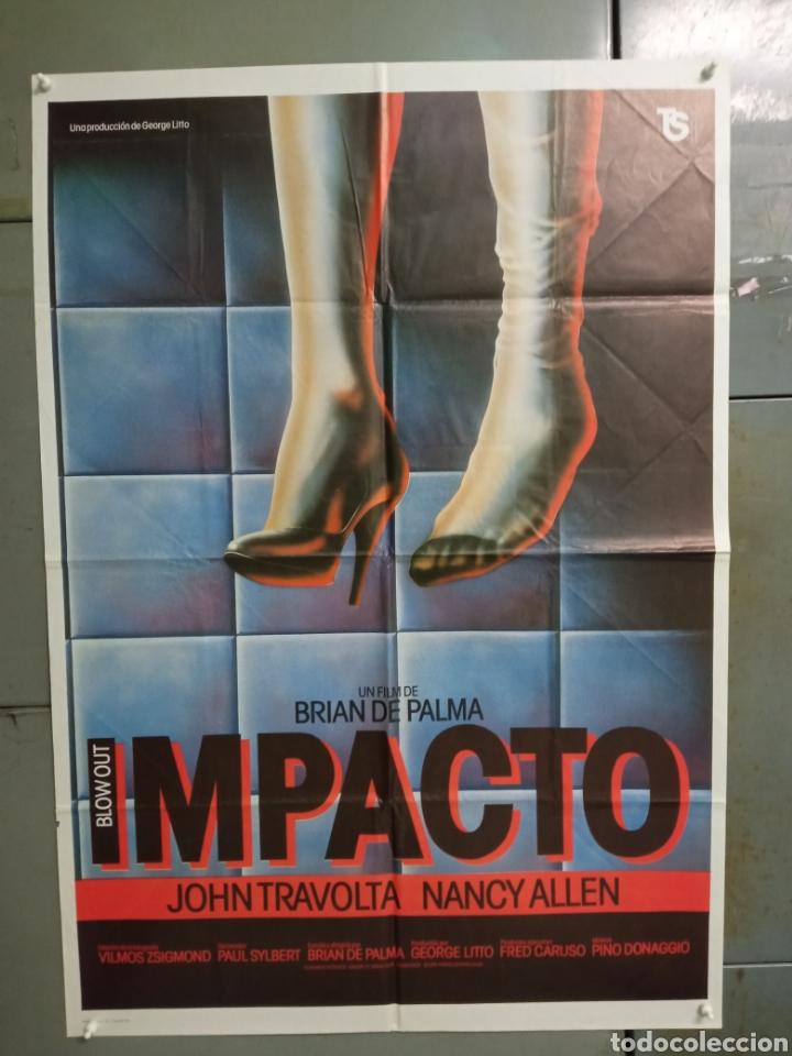 AAX99 IMPACTO BRIAN DE PALMA JOHN TRAVOLTA NANCY ALLEN POSTER ORIGINAL 70X100 ESTRENO (Cine - Posters y Carteles - Suspense)