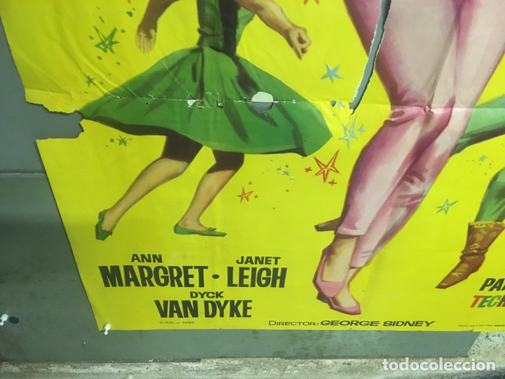 Cine: AAX93 UN BESO PARA BIRDIE ANN-MARGRET JANO POSTER ORIGINAL 3 HOJAS 100X205 ESTRENO - Foto 5 - 265473469