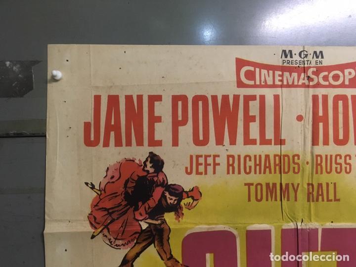Cine: AAX88 SIETE NOVIAS PARA SIETE HERMANOS STANLEY DONEN CINEMASCOPE POSTER ORIGINAL 70X100 ESTRENO - Foto 2 - 265474209