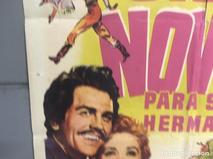Cine: AAX88 SIETE NOVIAS PARA SIETE HERMANOS STANLEY DONEN CINEMASCOPE POSTER ORIGINAL 70X100 ESTRENO - Foto 4 - 265474209