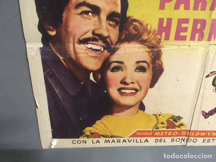 Cine: AAX88 SIETE NOVIAS PARA SIETE HERMANOS STANLEY DONEN CINEMASCOPE POSTER ORIGINAL 70X100 ESTRENO - Foto 5 - 265474209