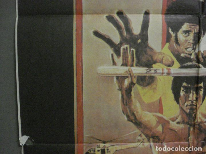 Cine: AAY33 OPERACION DRAGON BRUCE LEE BOB PEAK POSTER ORIGINAL 70X100 ESTRENO raro - Foto 3 - 265509864