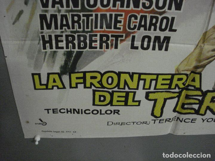 Cine: CDO K938 LA FRONTERA DEL TERROR VAN JOHNSON MARTINE CAROL POSTER ORIGINAL 70X100 ESTRENO - Foto 5 - 265733799