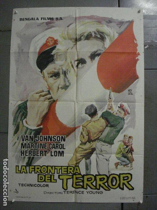 CDO K938 LA FRONTERA DEL TERROR VAN JOHNSON MARTINE CAROL POSTER ORIGINAL 70X100 ESTRENO (Cine - Posters y Carteles - Acción)