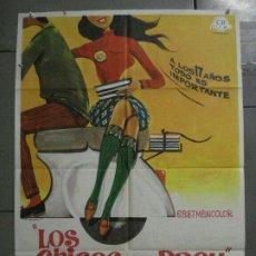 Cine: CDO K949 LOS CHICOS DEL PREU VESPA KARINA CAMILO SESTO LOS PEKENIKES POSTER ORGINAL ESTRENO 70X100. Lote 265748449