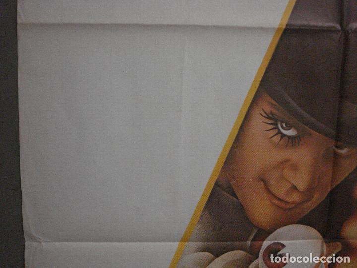 Cine: CDO K951 LA NARANJA MECANICA STANLEY KUBRICK POSTER ORIGINAL 70X100 ESPAÑOL 1978 - Foto 3 - 265751194