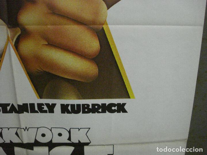 Cine: CDO K951 LA NARANJA MECANICA STANLEY KUBRICK POSTER ORIGINAL 70X100 ESPAÑOL 1978 - Foto 8 - 265751194
