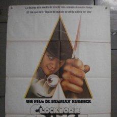 Cine: CDO K951 LA NARANJA MECANICA STANLEY KUBRICK POSTER ORIGINAL 70X100 ESPAÑOL 1978. Lote 265751194