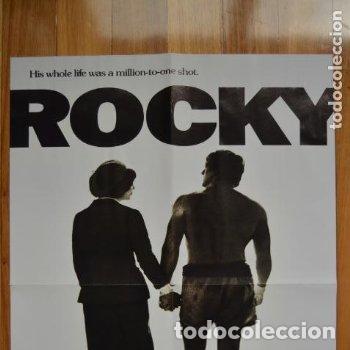 POSTER O CARTEL DOBLE #002 DE ROCKY Y GOTHAM (Cine - Posters y Carteles - Deportes)