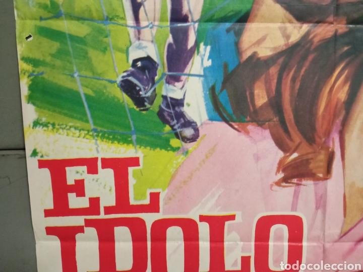 Cine: CDO K974 EL IDOLO CAIDO ROMY SCHNEIDER FUTBOL POSTER ORIGINAL 70X100 ESTRENO - Foto 4 - 265756469