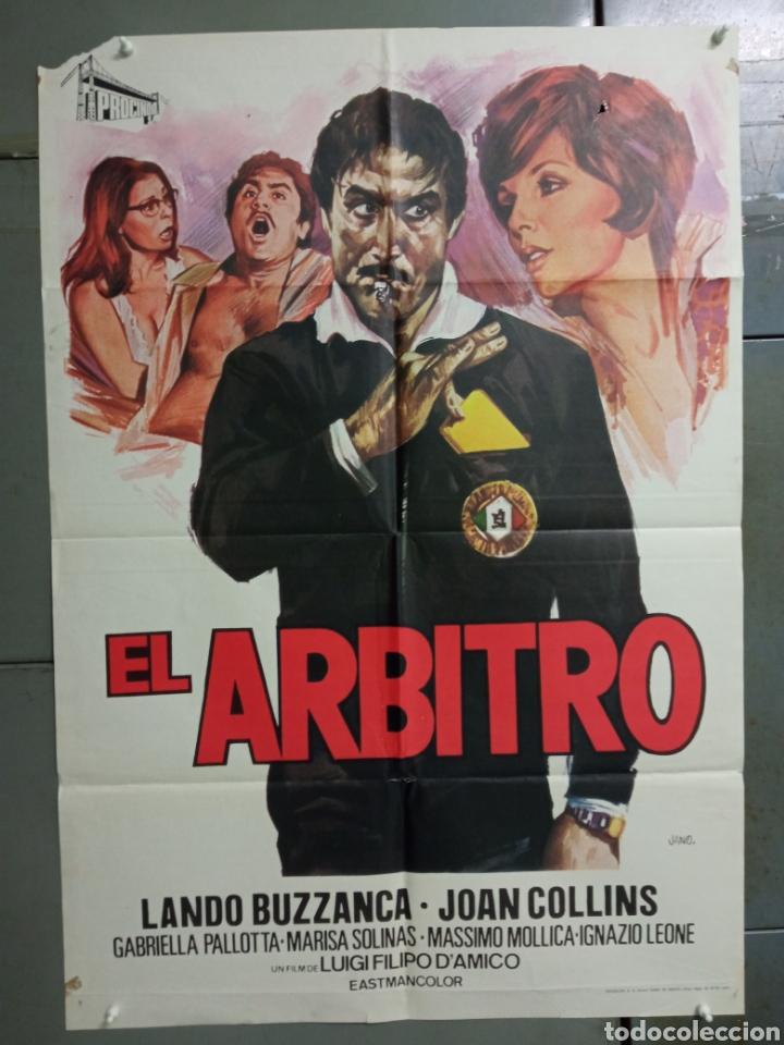 CDO K972 EL ARBITRO LANDO BUZZANCA JANO FUTBOL POSTER ORIGINAL 70X100 ESTRENO (Cine - Posters y Carteles - Deportes)