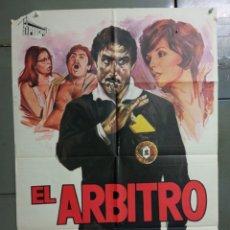 Cine: CDO K972 EL ARBITRO LANDO BUZZANCA JANO FUTBOL POSTER ORIGINAL 70X100 ESTRENO. Lote 265756709