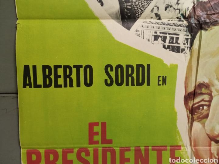 Cine: CDO K968 EL PRESIDENTE DEL BORGOROSO ALBERTO SORDI FUTBOL POSTER ORIGINAL 70X100 ESTRENO - Foto 3 - 265757339