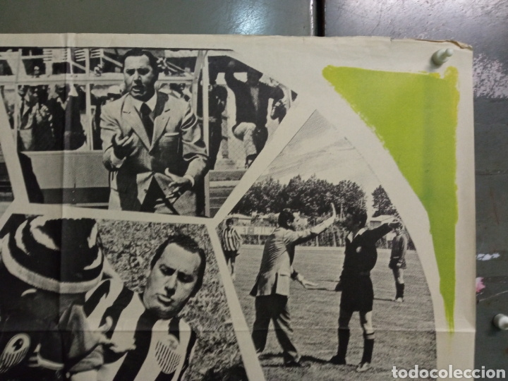 Cine: CDO K968 EL PRESIDENTE DEL BORGOROSO ALBERTO SORDI FUTBOL POSTER ORIGINAL 70X100 ESTRENO - Foto 5 - 265757339