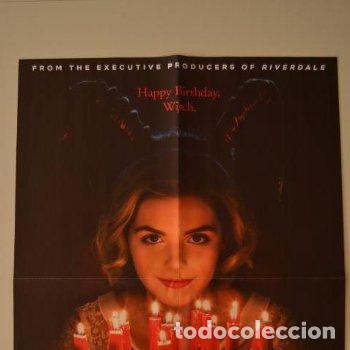 POSTER O CARTEL DOBLE #010 DE LAS ESCALOFRIANTES AVENTURAS DE SABRINA Y CAPITANA MARVEL (Cine - Posters y Carteles - Suspense)