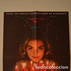Cine: POSTER O CARTEL DOBLE #010 DE LAS ESCALOFRIANTES AVENTURAS DE SABRINA Y CAPITANA MARVEL. Lote 265757404
