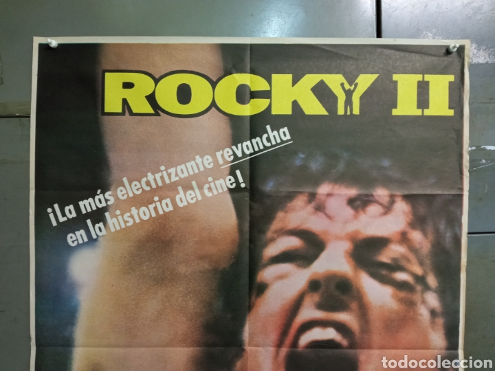 Cine: CDO K962 ROCKY 2 SYLVESTER STALLONE BOXEO POSTER ORIGINAL 70X100 ESPAÑOL R-84 - Foto 2 - 265758144