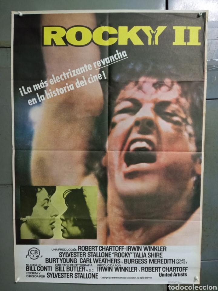 CDO K962 ROCKY 2 SYLVESTER STALLONE BOXEO POSTER ORIGINAL 70X100 ESPAÑOL R-84 (Cine - Posters y Carteles - Deportes)