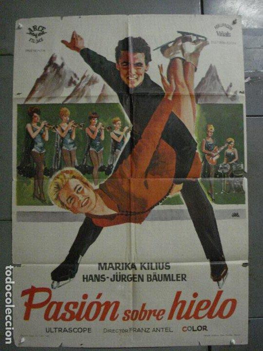 CDO L012 PASION SOBRE HIELO MARIKA KILIUS HANS-JURGEN BAUMLER PATINAJE POSTER ORIG 70X100 ESTRENO (Cine - Posters y Carteles - Deportes)