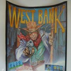 Cinema: WEST BANK CARTEL 20 X 27 CTMS. Lote 265806459