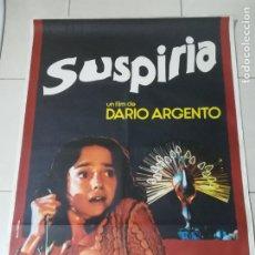 Cine: POSTER / CARTEL DE CINE ORIGINAL. SUSPIRIA. DARIO ARGENTO. 100 X 70 CM. Lote 266360568