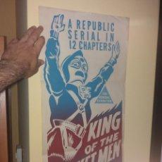 Cine: KING OF THE ROCKET MEN ORIGINAL Y DIFÍCIL CARTEL. Lote 266509573