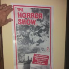 Cine: THE HORROR SHOW CARTEL MUY DIFÍCIL ,ORIGINAL DE ÉPOCA. Lote 266513928