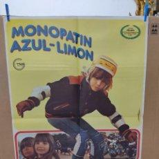 Cine: MONOPATIN AZUL - LIMON. ANNY DUPEREY, LIONEL MELET. AÑO 1979.. Lote 266546548
