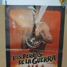 Cine: LOS PERROS DE LA GUERRA CHRISTOPHER WALKEN FREDERICK FORSYTH POSTER ORIGINAL. Lote 266546728