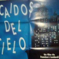 Cine: CARTEL PÓSTER DE CINE ORIGINAL CAÍDOS DEL CIELO DE FRANCISCO J. LOMBARDI.. TOMASO FILMS ESPAÑA. Lote 266971204