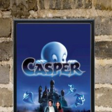 Cine: CUADRO CASPER CARTEL POSTER PELÍCULA NUEVO ENMARCADO 30X20. Lote 267120824