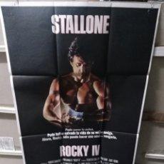 Cine: ROCKY IV SYLVESTER STALLONE POSTER ORIGINAL 70X100 Q. Lote 206185165
