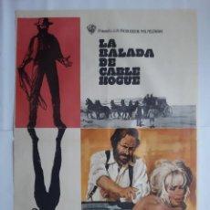 Cine: ANTIGUO CARTEL CINE LA BALADA DE CABLE HOGUE 1970 MAC RV P84. Lote 267308254