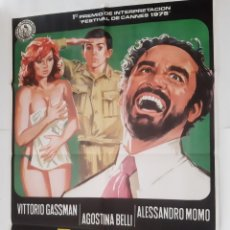 Cine: ANTIGUO CARTEL CINE PERFUME DE MUJER 1975 RV P88. Lote 267744424